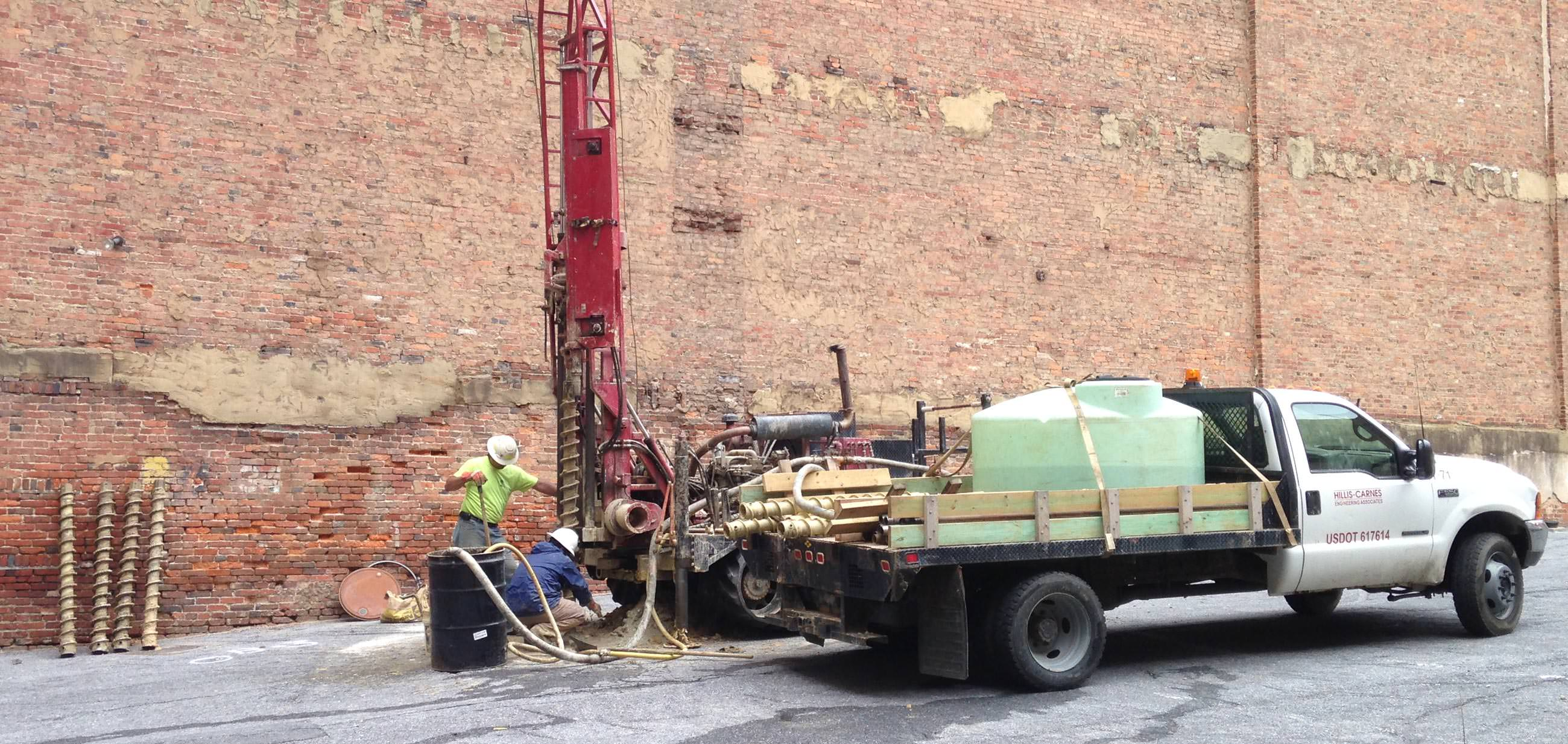 Drilling and Subsurface Investigation