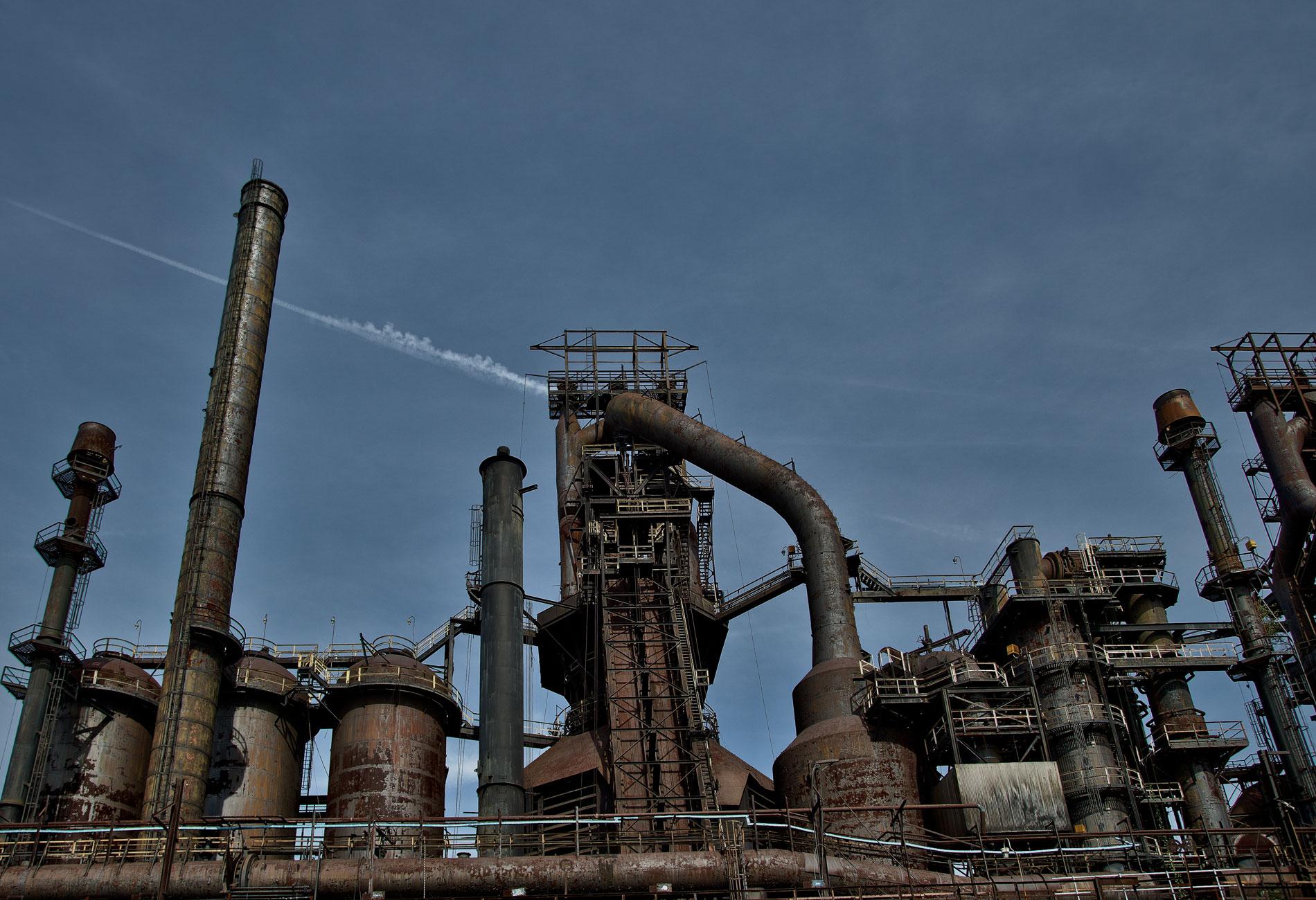 Bethlehem Steel Stacks - Iconic Pic